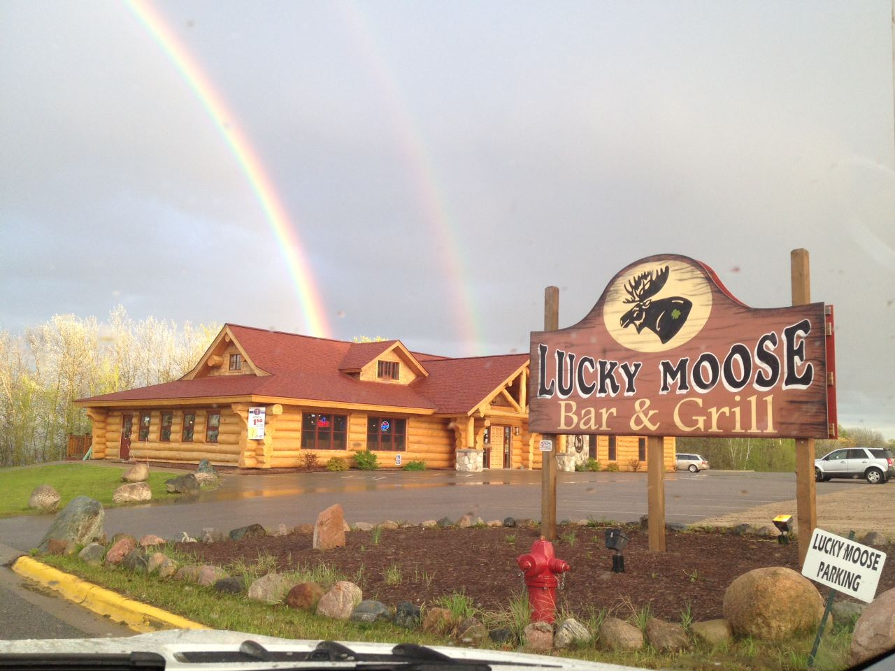 Vikings Game Day Specials at the Lucky Moose Bar & Grill in Walker, MN