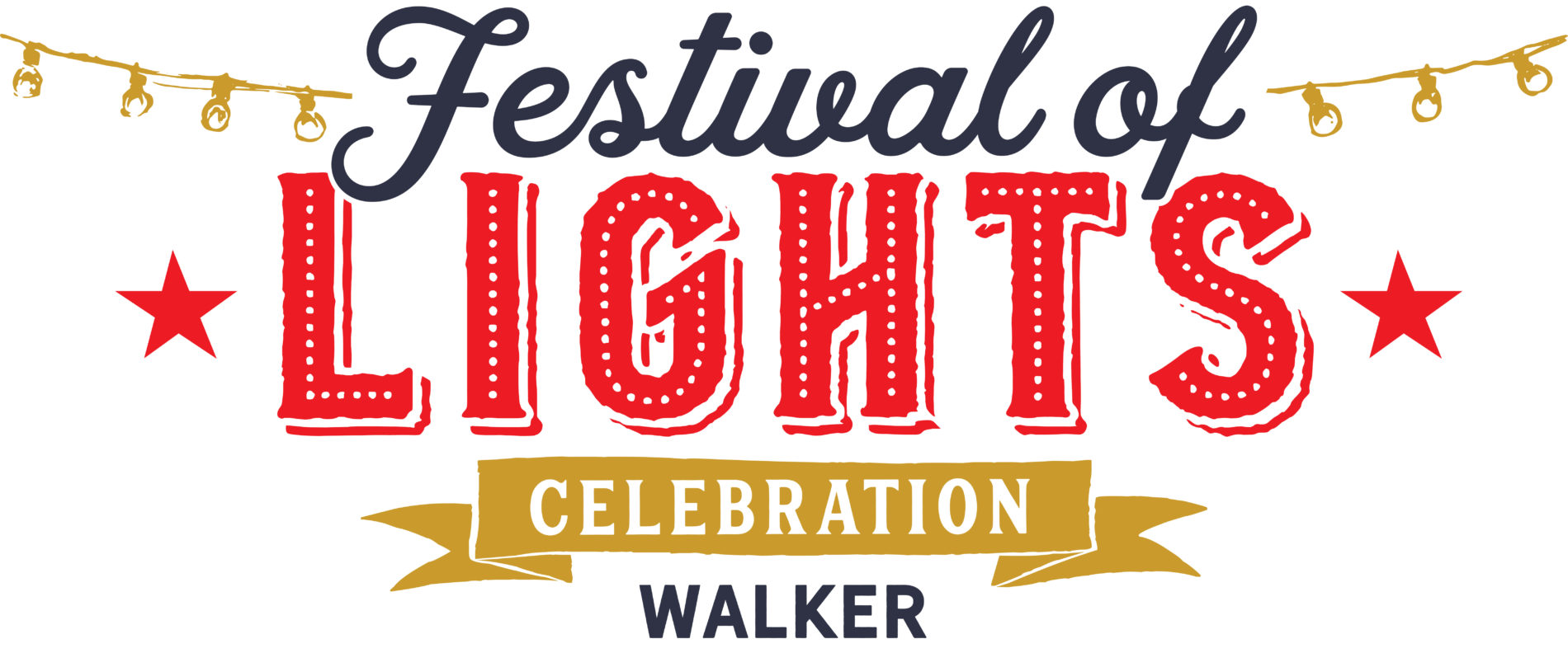 Walker celebration festival of lights