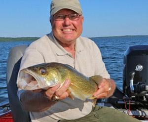 Catch a fish in Leech Lake