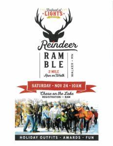 Reindeer Ramble Walker MN