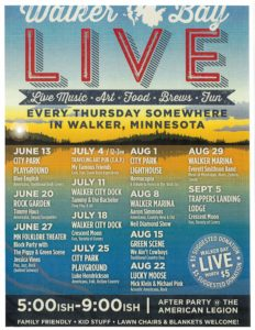 Walker Bay Live Calendar - Leech Lake Area Chamber of Commerce