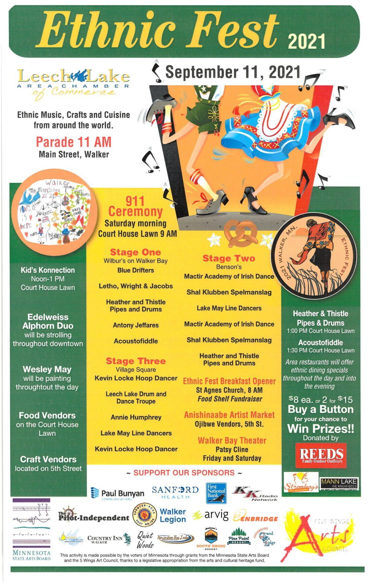 Ethnic Fest - Sept. 11, 2021