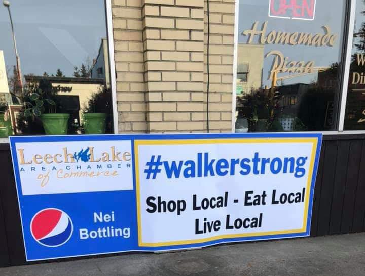Walker is Open